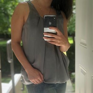 Silver floaty top